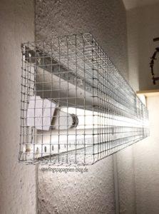 UV-Grundbeleuchtung Vogelvoliee Vogelkäfig